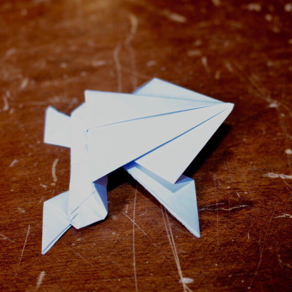 Kvadratisk papirtudse